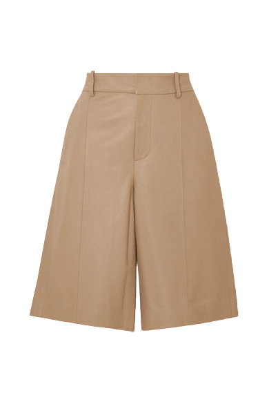Women Leather Shorts - Indian Leather Manufacturer