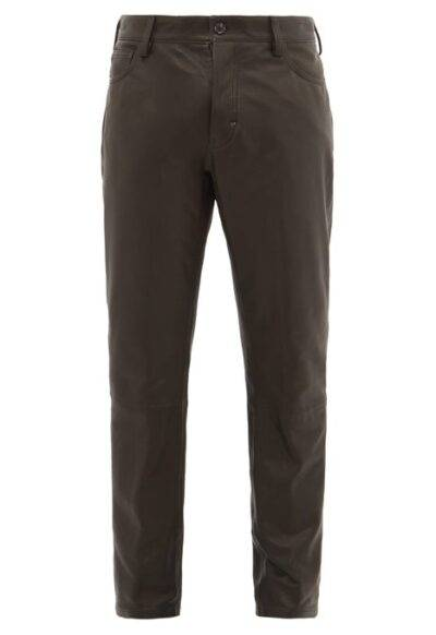 Men's Leather Pant