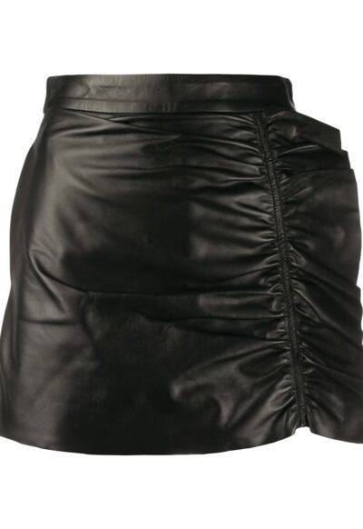 Women Leather Shorts