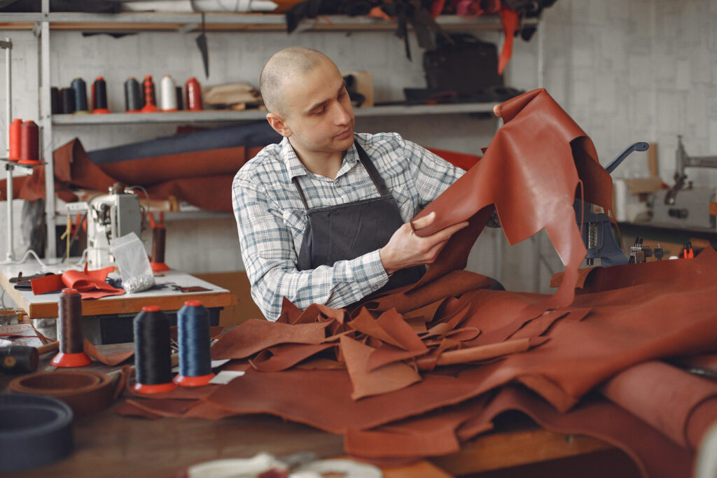 Leather Crafting and Quality Check