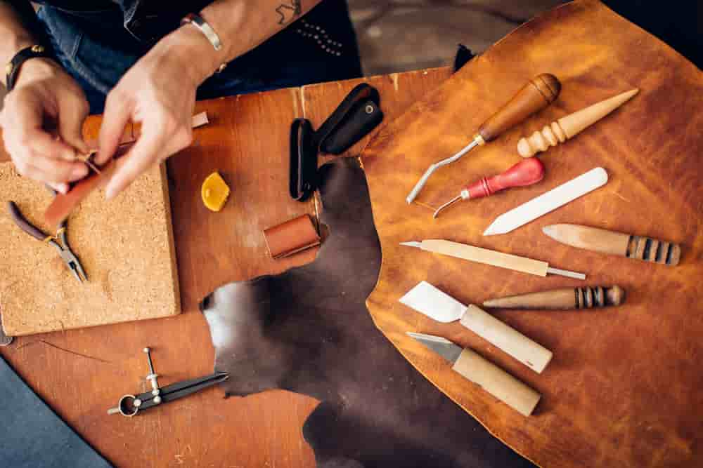 custom leather - Indian leather manufacturer