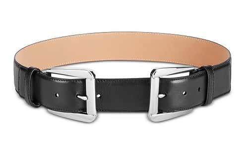 Double-Buckle-Leather-Belt