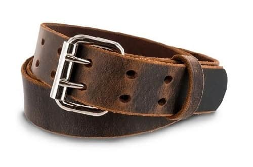 Double-Prong-Leather-Belt