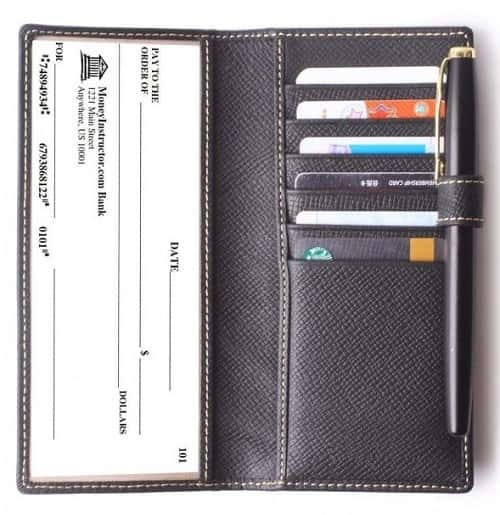 Leather-checkbook-wallets
