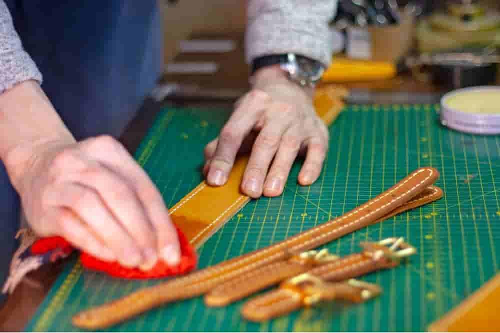 Leather Polishing - Indian Leather Manufacturer
