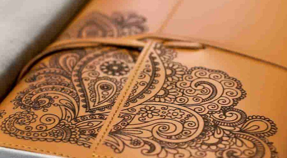 Custom Engraved Leather - indian leather manufacturers