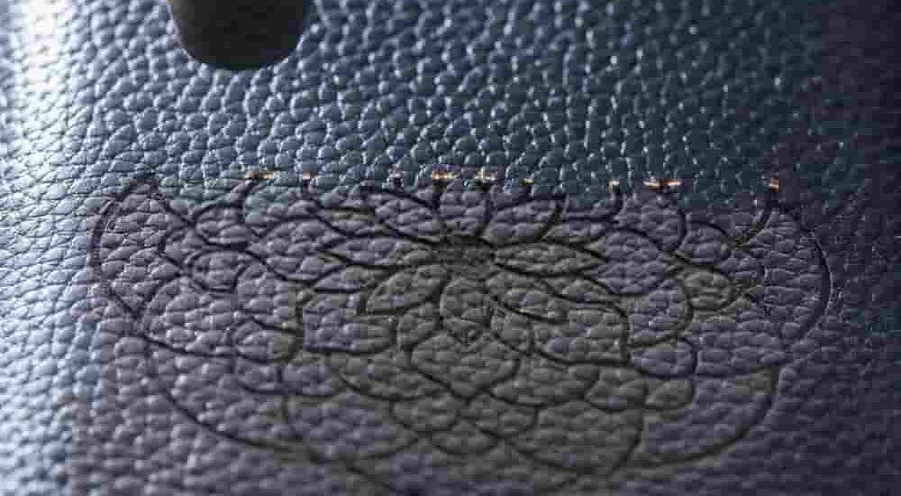 Custom Leather Engraving - - indian leather manufacturers