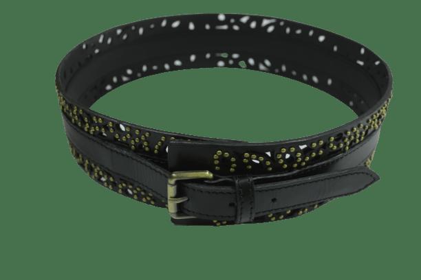 lazercut corset studded belt - indian leather manufacturer