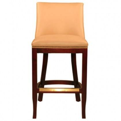 BAR CHAIR- INDIAN LEATHER MANUFACTURER