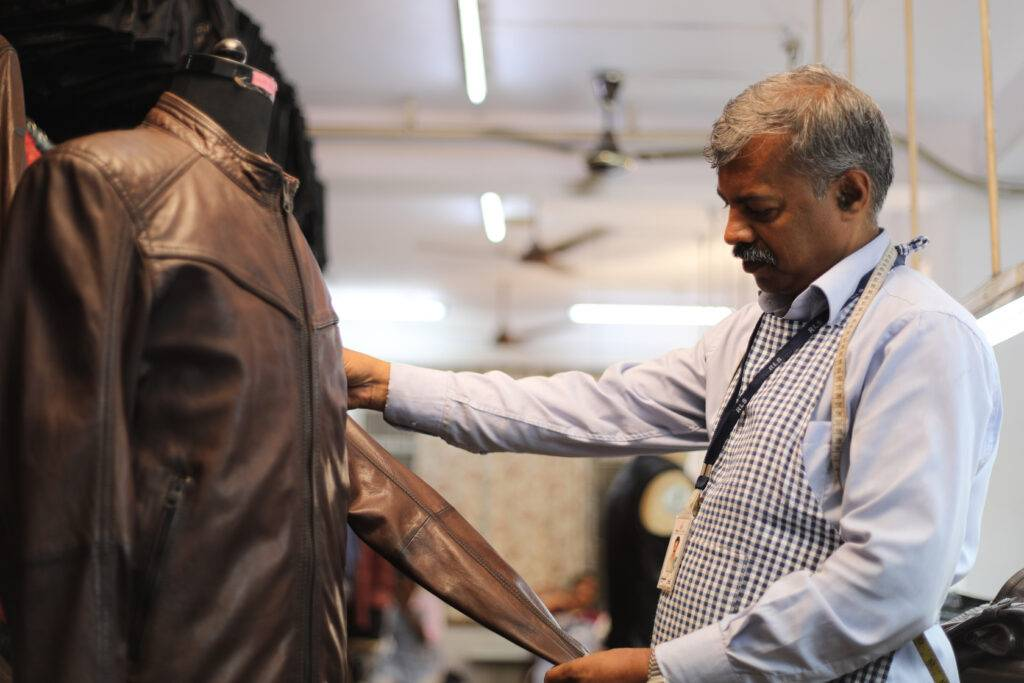 material inspection- indian leather manufacturer